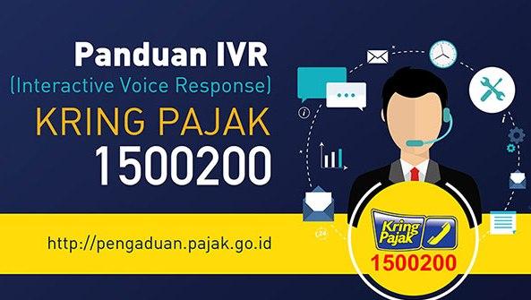 Kring Pajak 1500200 tidak dapat dihubungi, Gunakan layanan Online