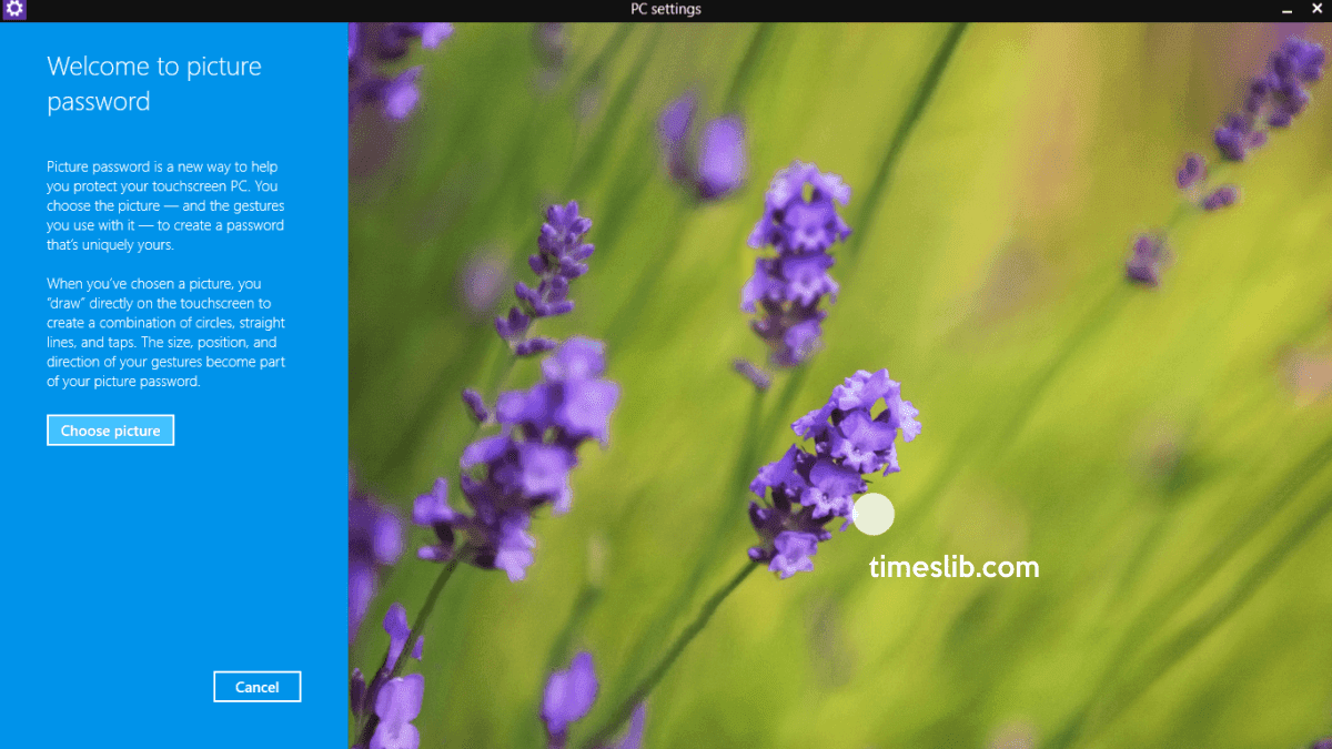 Cara Membuat Password Gambar di Windows 8.1