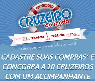 Promoção Cruzeiro da Moda Beira-Rio