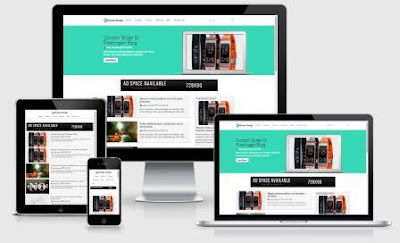 Template SEO Responsive Terbaru Support Google AMP Free Download
