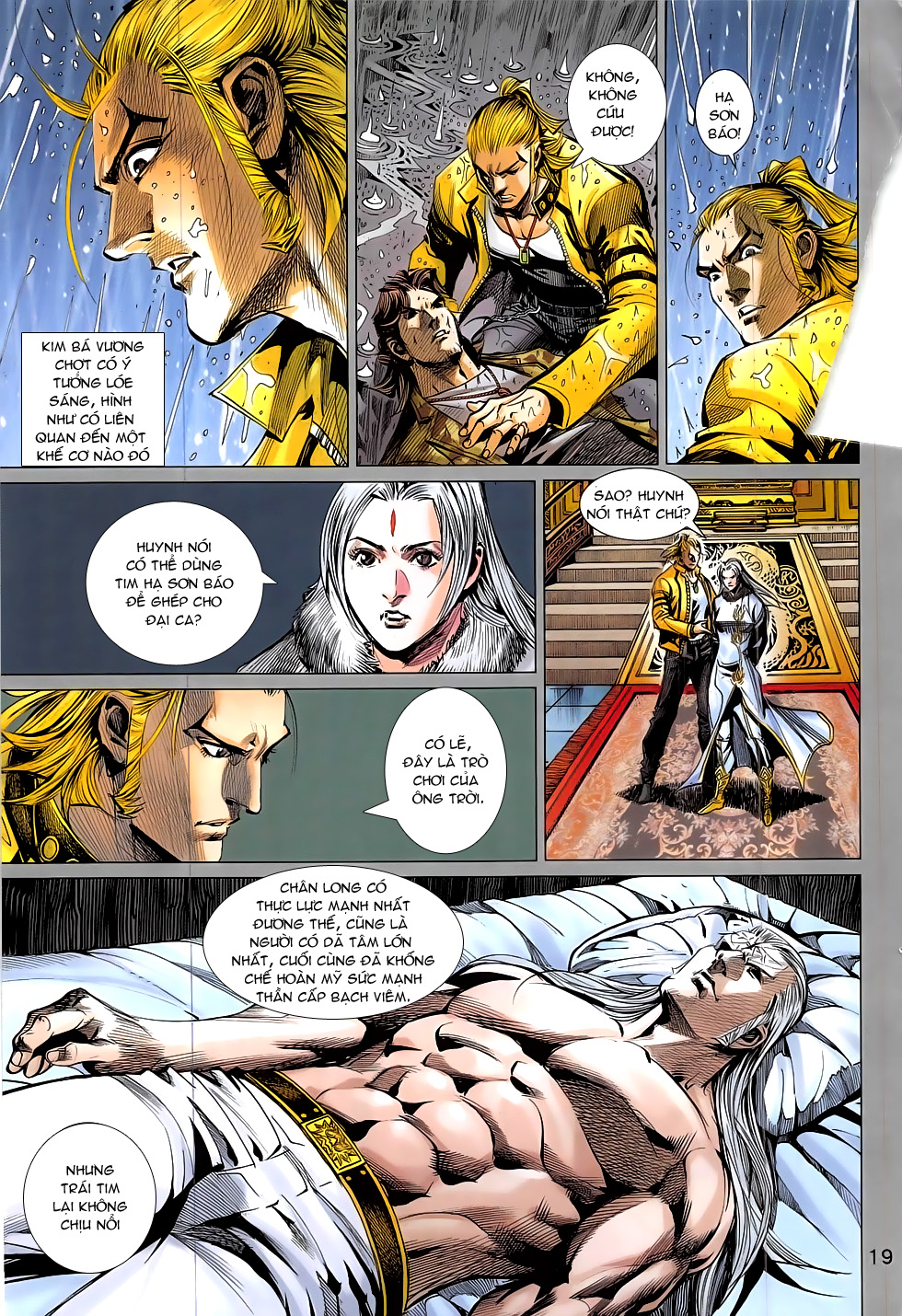Đông Phương Chân Long chap 66 - Trang 19
