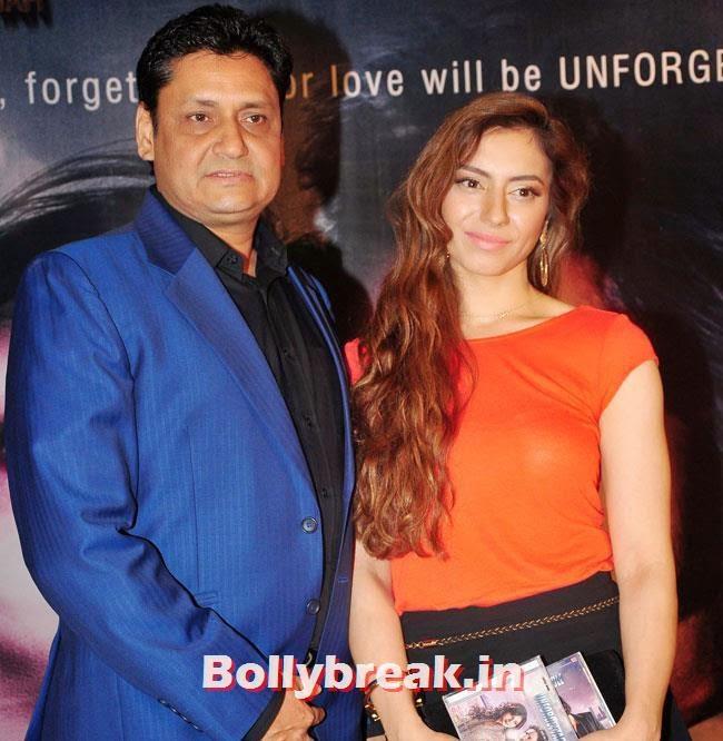 Zarah Shah, Sasha Agha, Alka Verma at Movie 'Unforgettable' First Look Launch