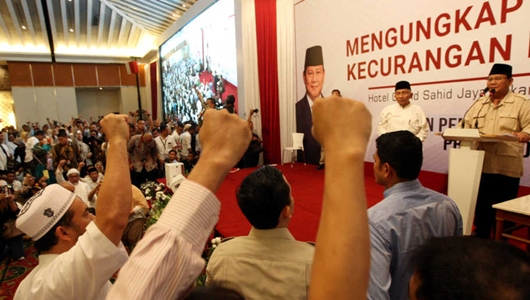 Dulu Menang 62%, Sekarang BPN Prabowo-Sandi Klaim 54,24%