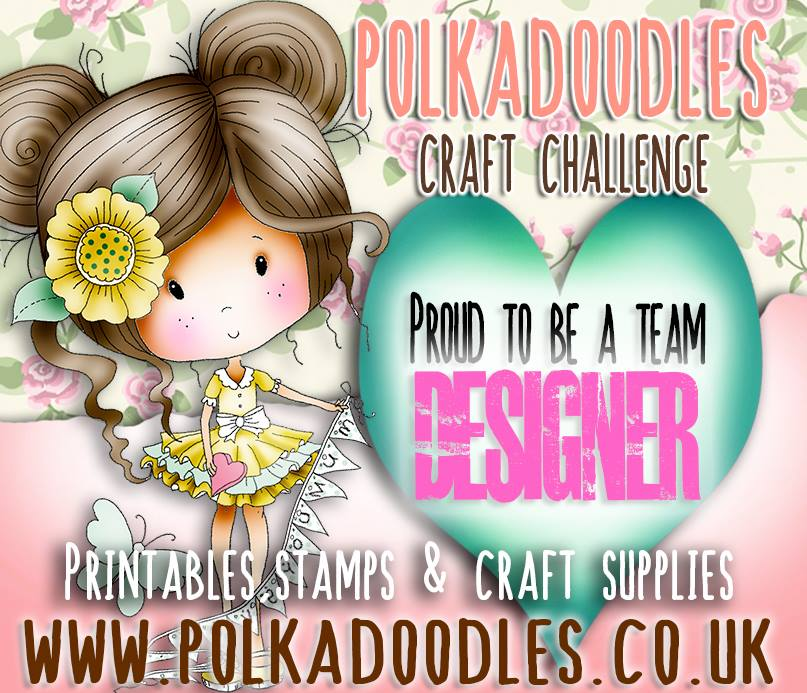 Proud to be on the Polkadoodles design team!