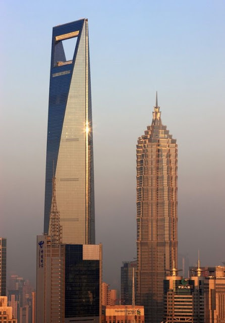 insaat-noktasi-Shanghai-World Financial-Center