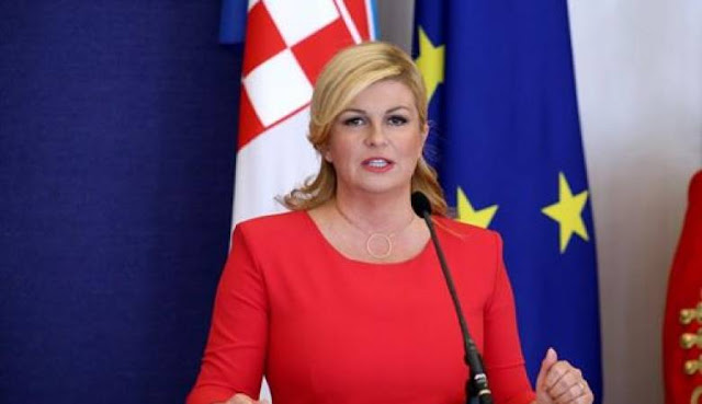 ما لا تعرفه عن رئيسة كرواتيا الجميلة التي ادهشت العالم في كاس العالم