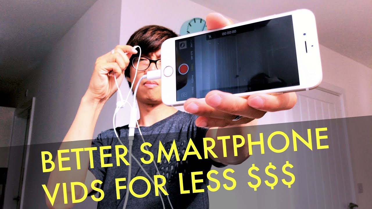 How to improve your smartphone video without spending big bucks.