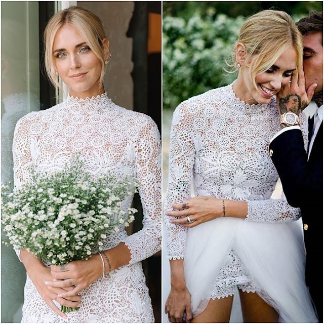vestido de noiva DIOR Chiara Ferragni