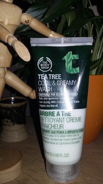 Arbre à thé, nettoyant crème fraîcheur The Body Shop