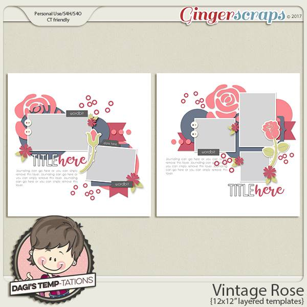 Dagi's Temp-tations Vintage Rose