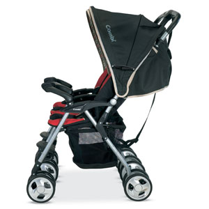Combi Twin Savvy E Stroller Review - Thrifty Nifty Mommy