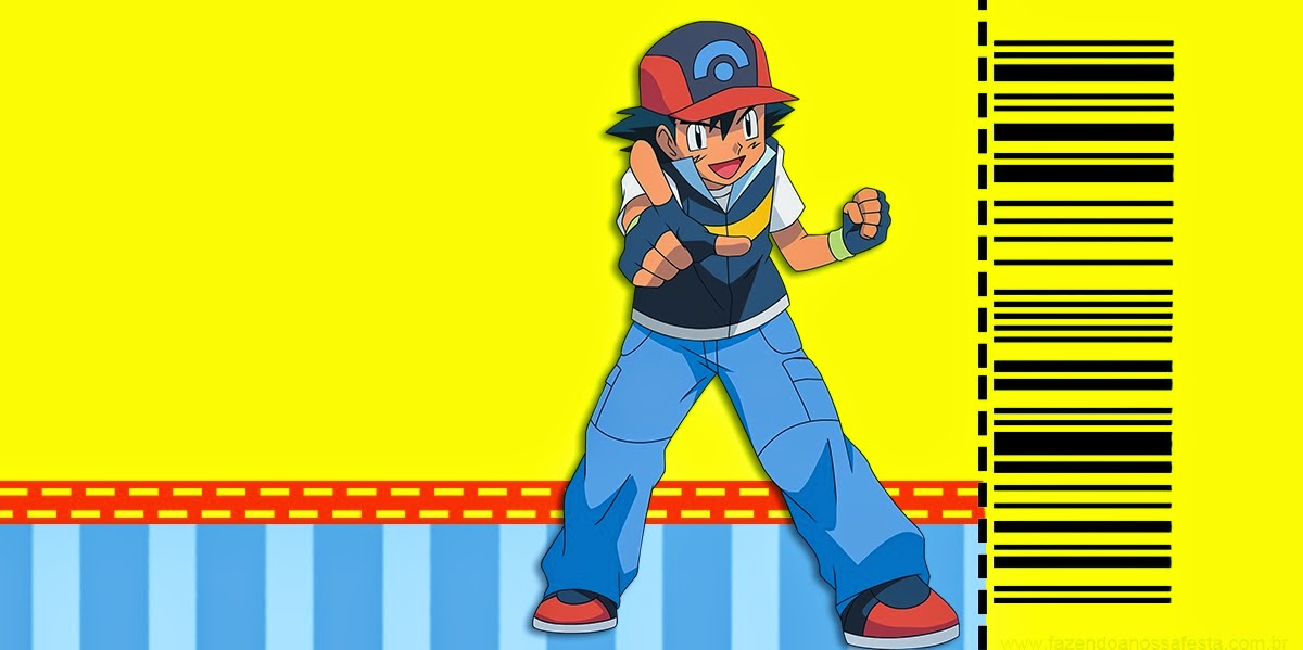 Pokemon Invitaciones Para Imprimir Gratis Oh My Fiesta