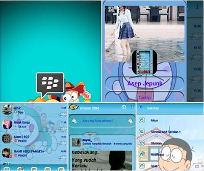 BBM MOD Doraemon Angelic V3 v3.0.1.25 Apk