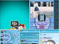 BBM MOD Doraemon Angelic V3 v3.0.1.25 Apk Terbaru Gratis Download