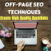 Off-Page SEO Techniques - 2019 | Create High Quality Backlinks (Hindi)