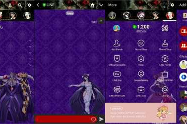 Download Tema Line Anime Overlord