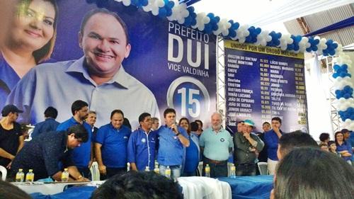 Convenção escolhe Dui do Bujão e Valdinha como candidatos a prefeito e vice em Orobó