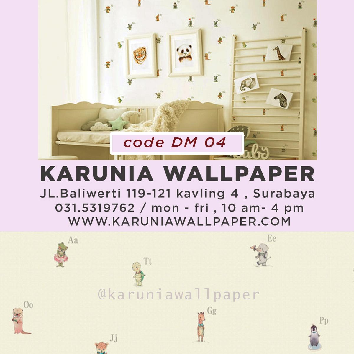 jual wallpaper dinding kamar bayi