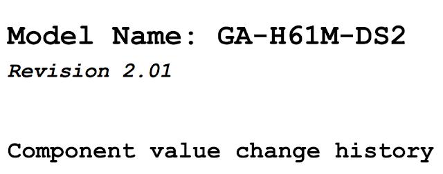 مخطط مازربورد جيجابيت GA-H61M-DS2