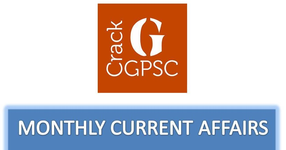 Crack GPSC Current Affairs Monthly PDF