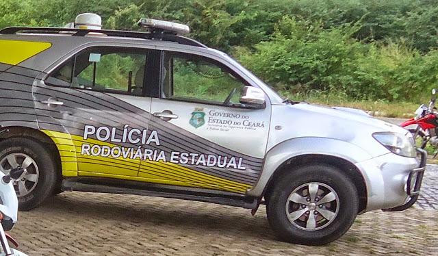 VIOLÊNCIA: Criminosos atacam com tiros policiais rodoviários estaduais em posto de Ubajara