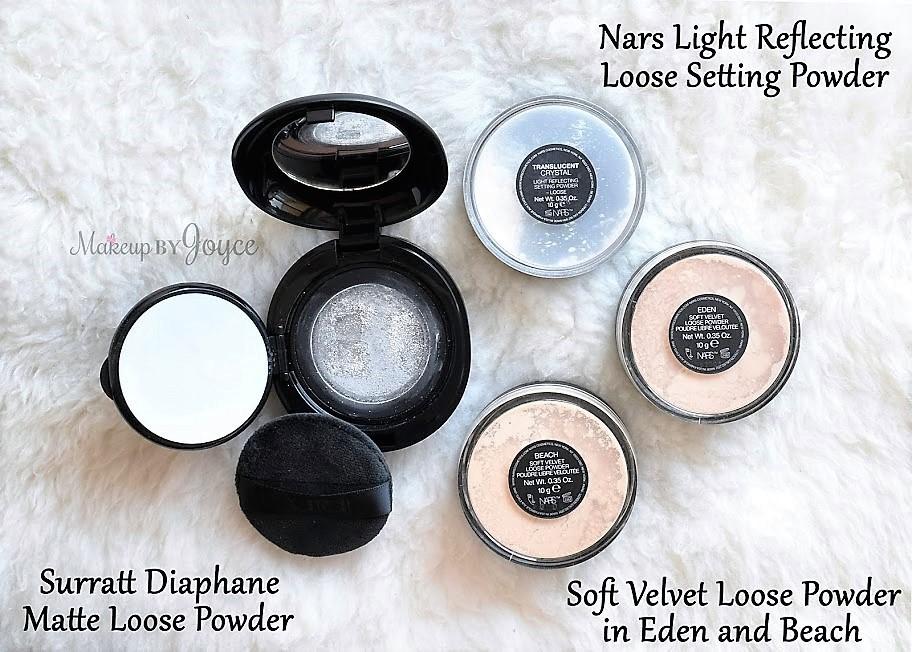 Nars Light Reflecting Loose Setting Powder Soft Velvet Eden Beach  Comparison Review