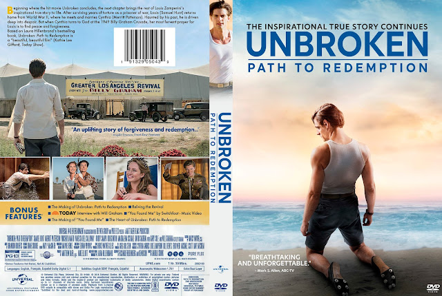 Unbroken: Path to Redemption DVD Cover