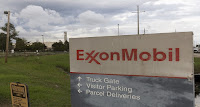 A sign is seen at the entrance of the Exxonmobil Port Allen Lubricants Plant in Port Allen, Louisiana, November 6, 2015. (Credit: Reuters/Lee Celano) Click to Enlarge.