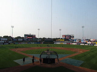 Home to center, McCoy Stadium