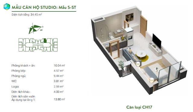 Căn studio 17
