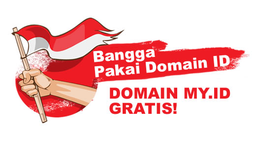 Cara Buat Domain ccTLD Indonesia MY.ID Gratis Selamanya