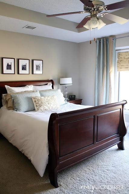 black wood bedroom furniture dark wood   addressing the ceiling fan light - Crazy Wonderful