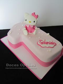 Hello Kitty cake birthday party