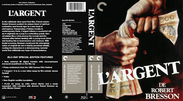 L'argent Bluray Cover