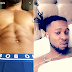 Flavour flaunts his sexy six-pack abs