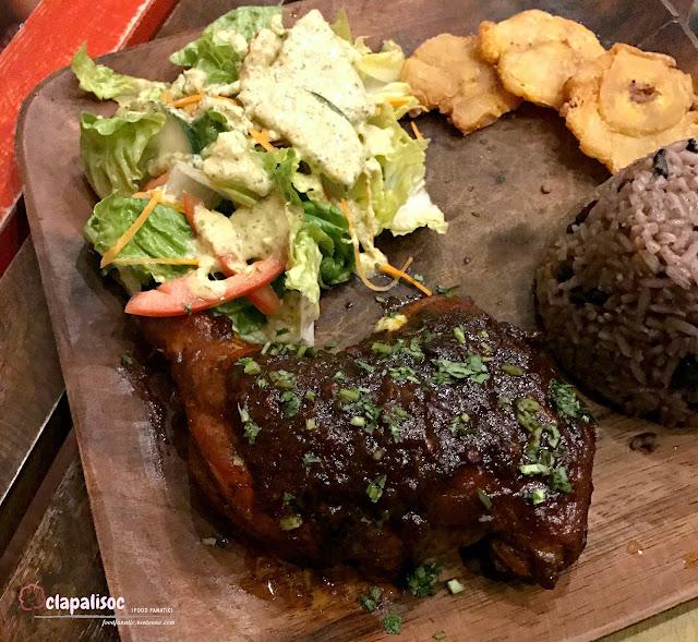 Rice & Beans Con Pollo Caribeno from Pura Vida Poblacion