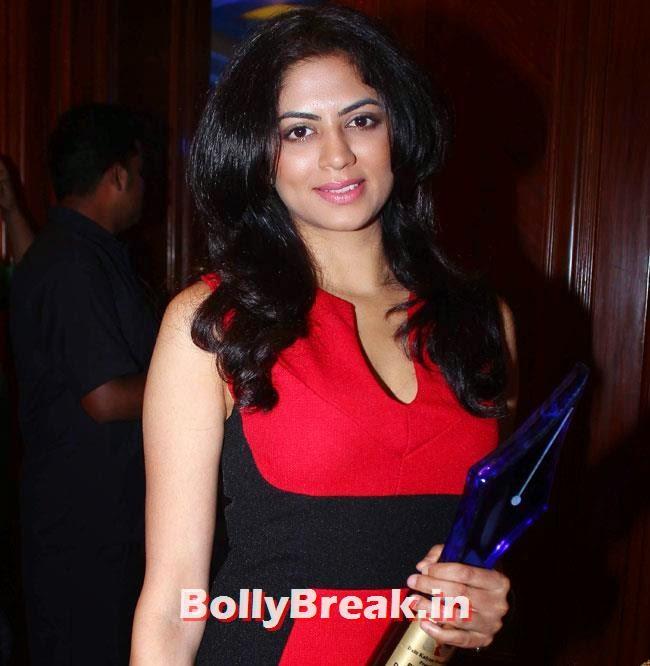 Kavita Kaushik, Rashmi Desai, Tanisha, Rituparna, Salma, Divya at Bharat Ratna Dr Ambedkar Awards 2014