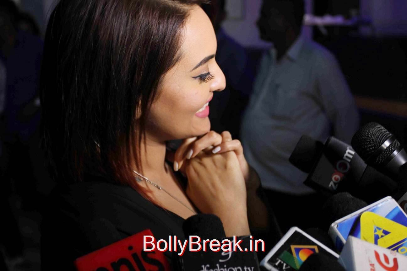 Sonakshi Sinha Stills, Sonakshi Sinha Hot Pics At Tevar Movie Special Screening