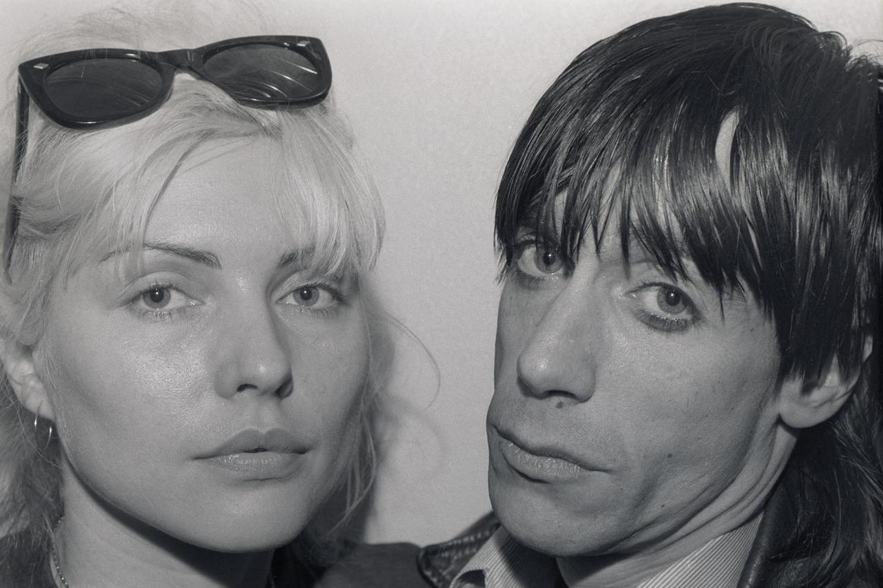 Iggy Pop And Debbie Harry 1977 Vintage Everyday