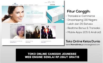Jeunesse Global Indonesia : Toko Online Canggih