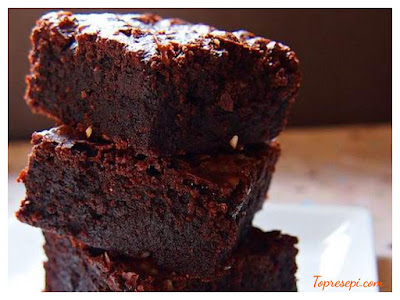 Resepi Chocolate Brownies Yang Simple
