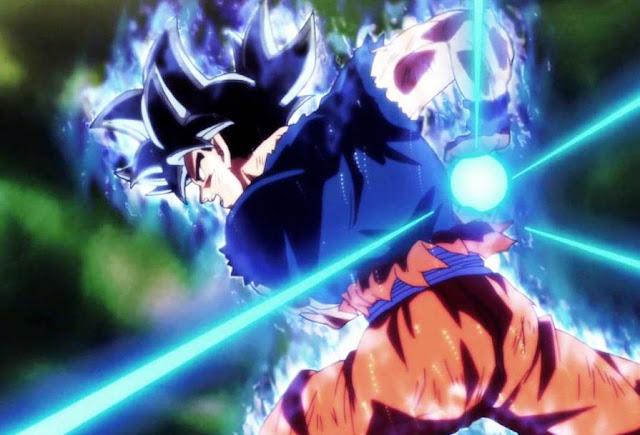 Ultra Instinct Goku Kamehameha Wallpaper