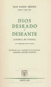 Ignacio Prat y el Dios deseado y deseante de Juan Ramón Jiménez, Ignacio Prat