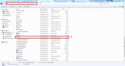 file php.ini wordpress