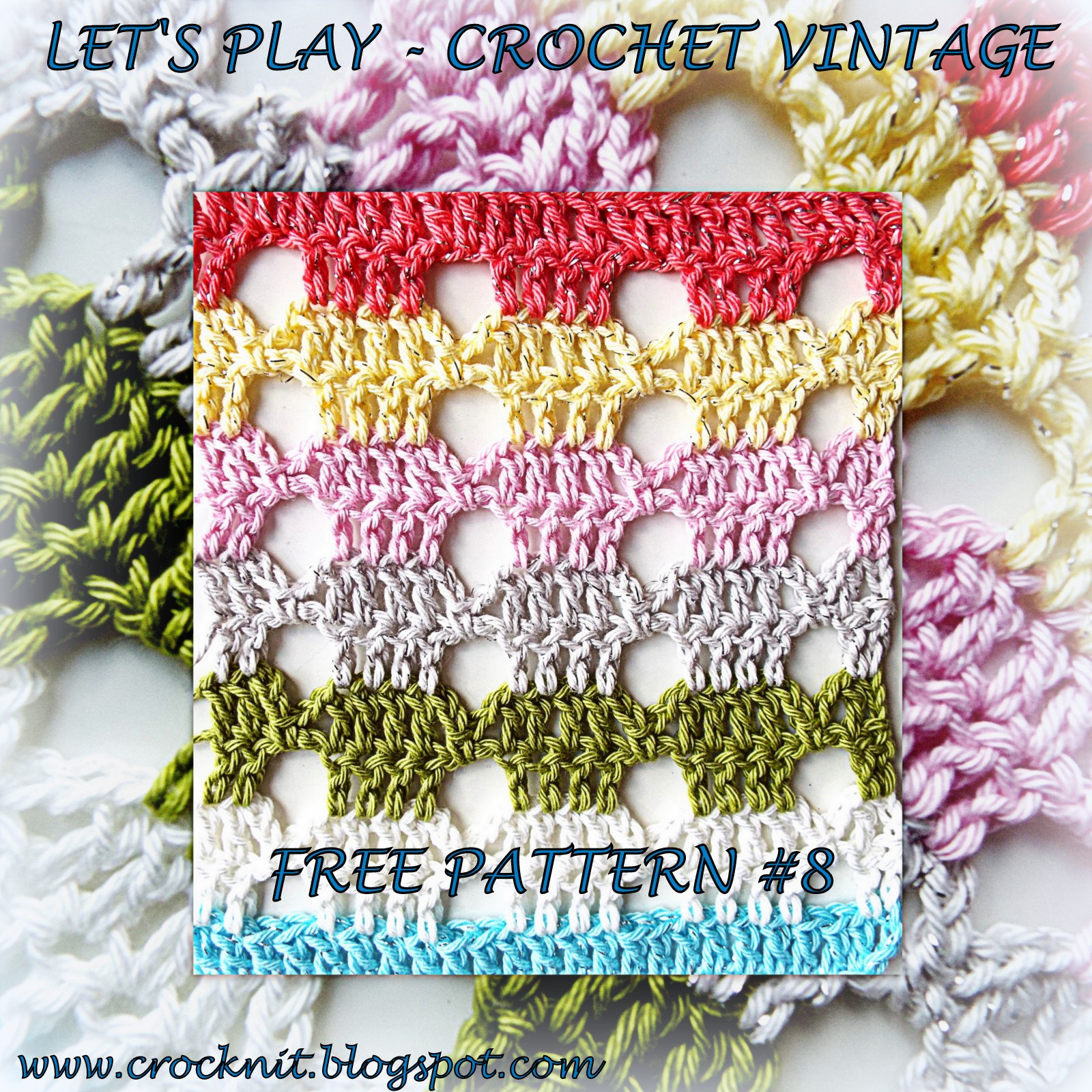Microcknit Creations Lets Play Crochet Vintage Free Pattern 8