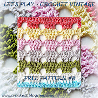 free crochet patterns, how to crochet, vintage, pentagon