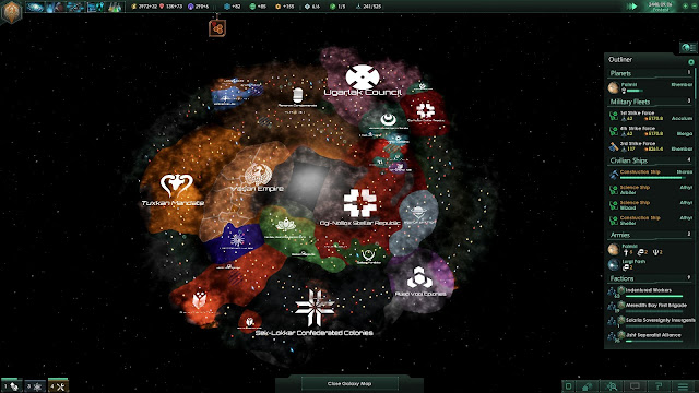 Review – Stellaris galaxy