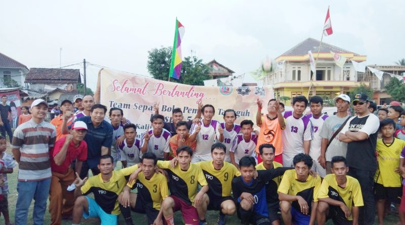 Jelang Sumpah Pemuda, Warga Kalijaya Gelar Turnamen Sepakbola