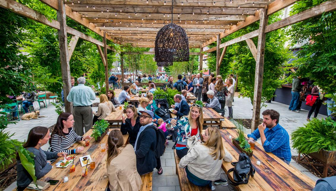 PA Environment Digest Blog: PA Horticultural Society Pop Up Gardens ...