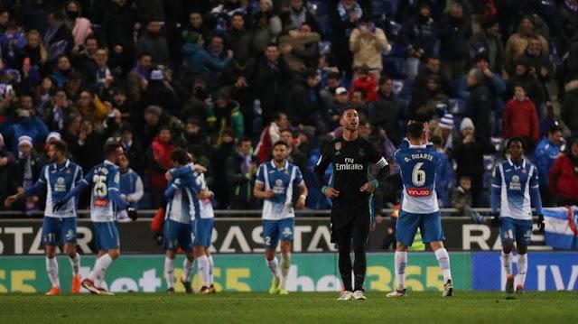 Kekalahan Pertama Madrid dari Espanyol Sejak 2007